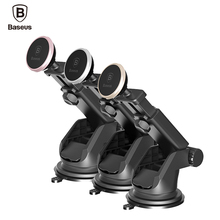 Baseus Telescopic Car Phone Holder For iPhone 7 Windshield Mount Magnetic Mobile Stand Support Cellular