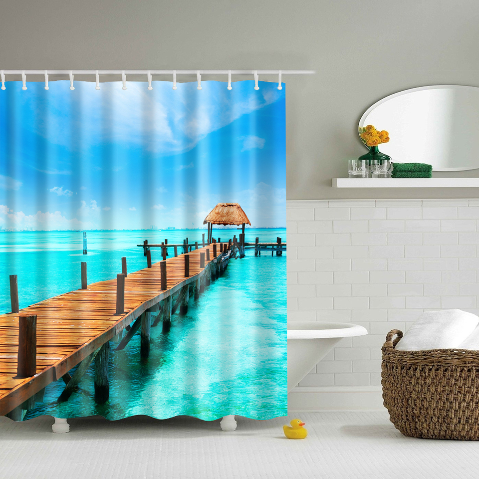 Bathroom Curtains online get cheap scenic shower curtains -aliexpress | alibaba