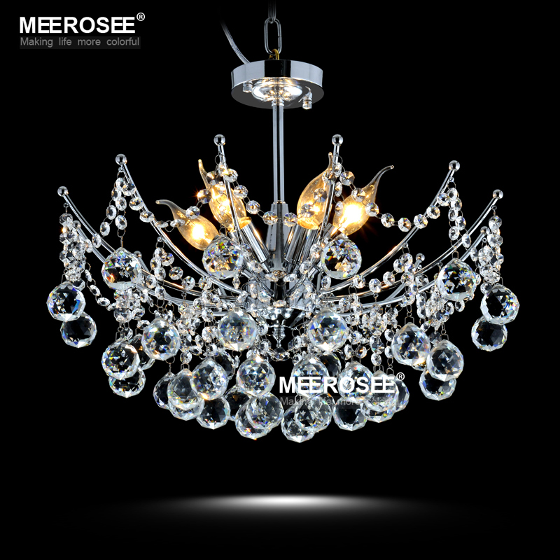Hot selling Modern Crystal Chandelier Light Fixture Lustres de cristal Lighting for Living Dining room Lamparas de techo Home
