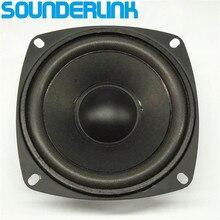 1 pc sounderlink 4 polegada 20 w tweeter alto falante gama completa raw driver alto falante de alta potência 8 ohm