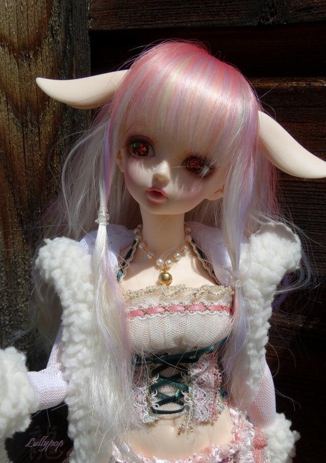 BJD Doll 1 4doll rin Joint Doll Free Eyes