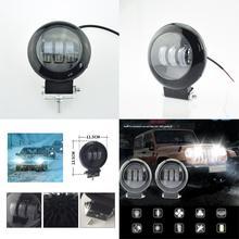 Auto fari luci di nebbia di Lavoro spot lampada LED 12 v 50 w lampada ausiliaria auto 6500 K super luminoso 4000lm faro moto faretti