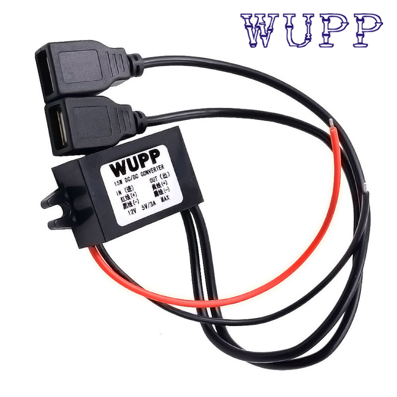 Car Boat Motorcycle Dual USB Charger DC 12V To 5V 3A Power Adapter Supply Car Dual USB Charger drop shipping JULY16 цена 2017