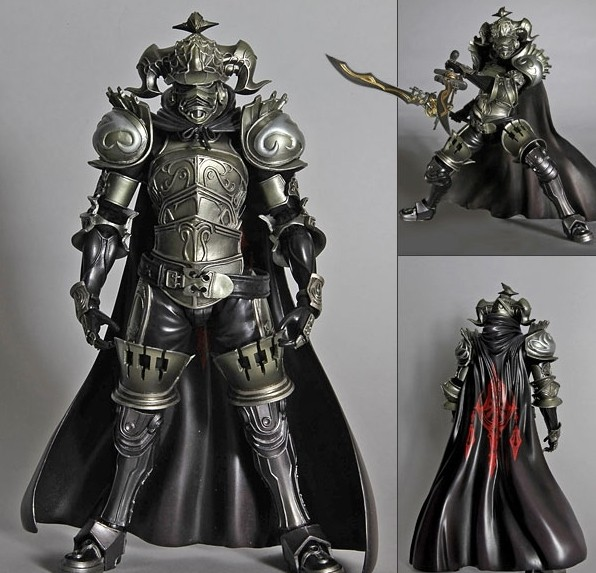 Play Arts Final Fantasy 12 Figure Final Fantasy XII Gabranth Figure PA 27cm PVC Action Figure Doll Toys Kids Gift  new hot 22cm final fantasy gabranth collectors action figure toys christmas gift doll
