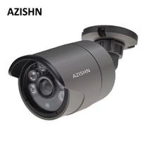 AZISHN H.265 IP Camera 1080P 2.0MP SONY IMX323 Sensor 6PCS ARRAY IP66 Waterproof CCTV ONVIF P2P motion detection Hi3516EV100