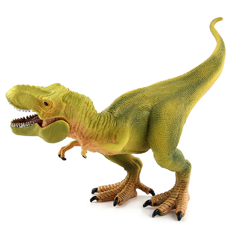 Dinosaur Model Hand Model Children's Toy PVC Plastic Rex Tyrannosaurus Rex big one simulation animal toy model dinosaur tyrannosaurus rex model scene