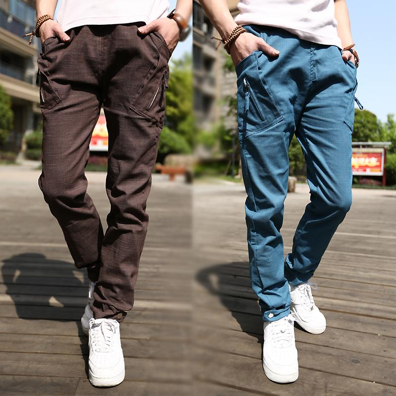Aliexpress.com : Buy 2016 Hot Style Men Pants Han Edition Slim Fit ...