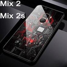 For xiaomi mi Combine 2 Case telephone Case Tempered glass cowl For xiaomi mi Mix2 case Cowl Safety Shell For xiaomi mi Combine 2s