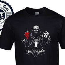Bohemian Dark Side T-Shirt - Queen Star Wars Mashup New Rahpsody Jedi Force Free shipping Harajuku Tops Fashion Classic