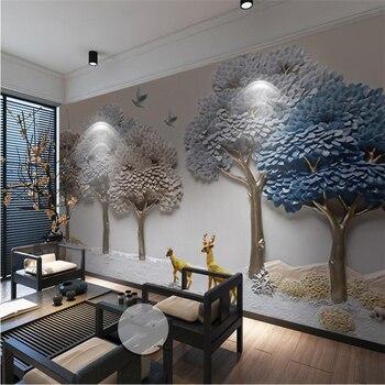 Beibehang De Papel Mural Cualquier Tamano Foto 3d Tridimensional En