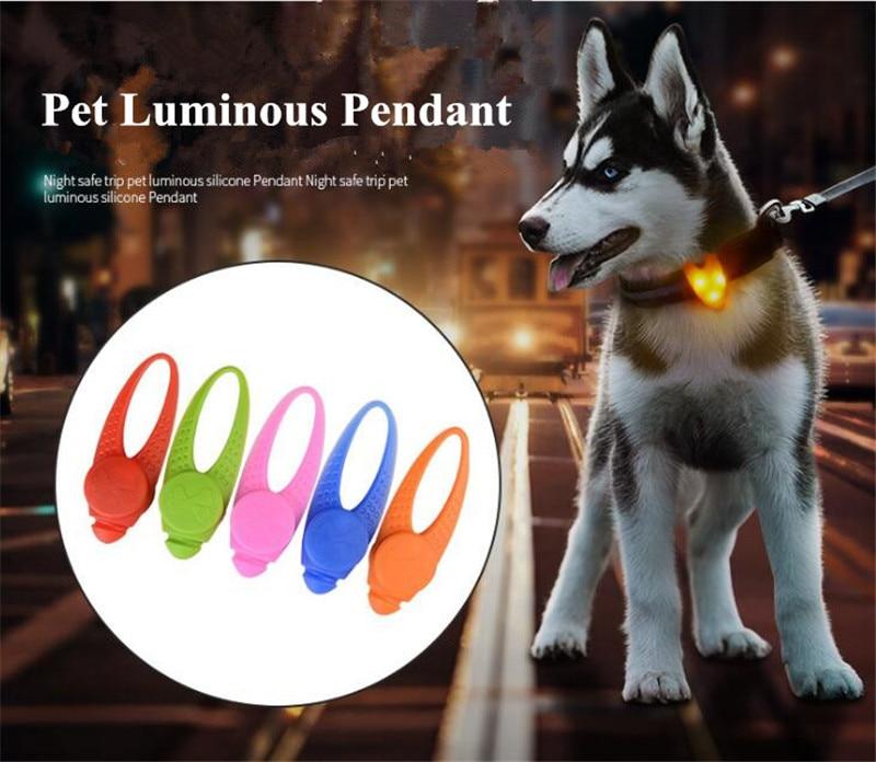 Obesek iz silikonskega LED sijalke za pse žareče obeske za hišne - Izdelki za hišne ljubljenčke