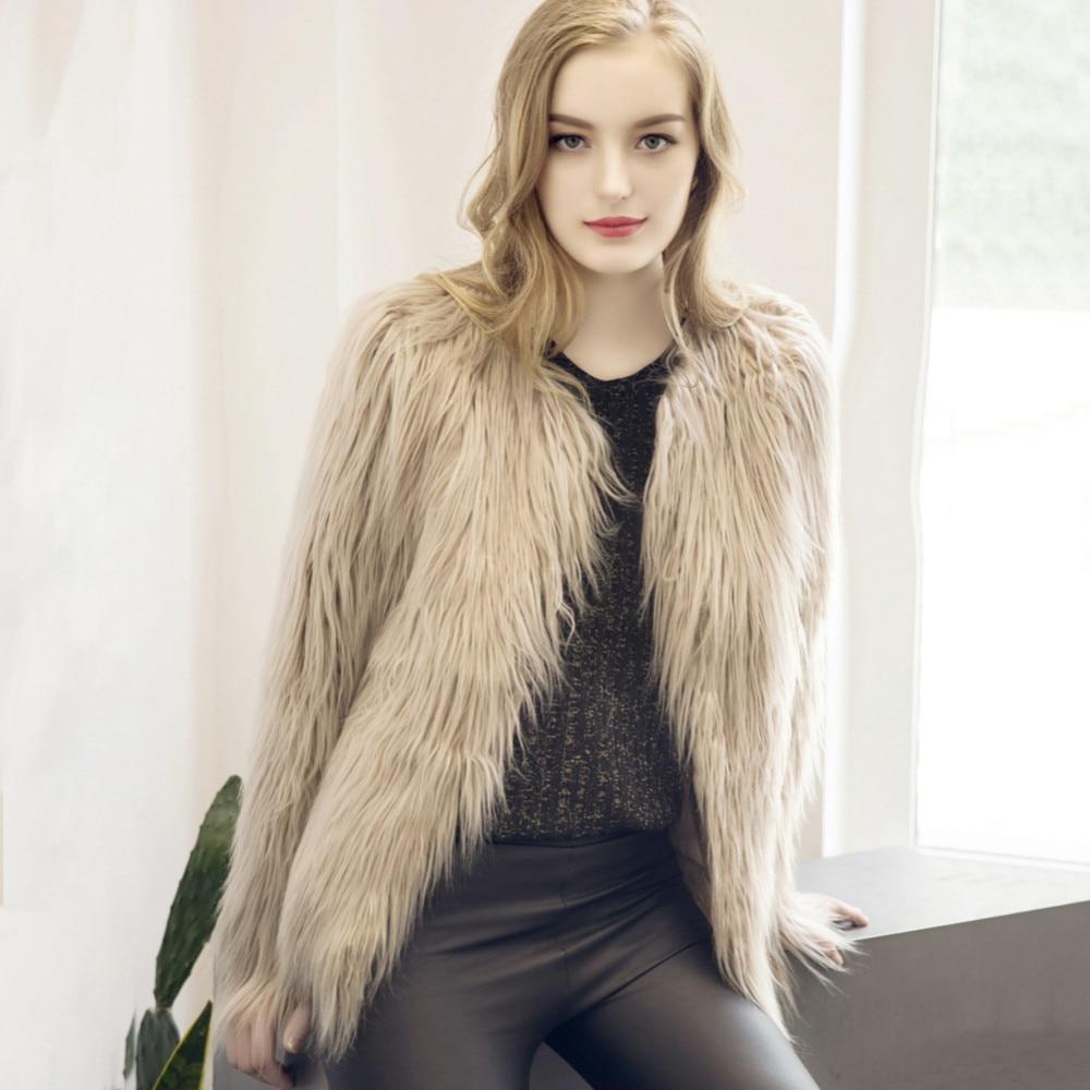 Chic Soft Faux Fur Coat 2