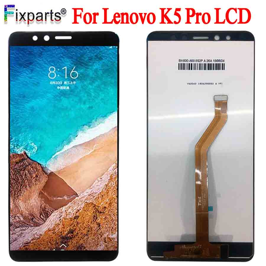 ЖК-дисплей 5,99 дюйма для Lenovo K5 Pro, сенсорный экран, дигитайзер в сборе, запасные части для Lenovo K5 Pro L38041, экран дисплея