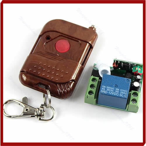 HAILANGNIAO New 12V Signal Channel Fixed Encoding Switch + Wireless Remote Control Promotion