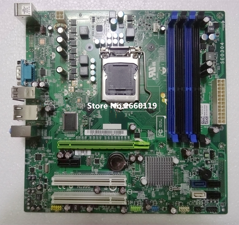 High quality desktop motherboard for T1500 support i5 i7 1156 0P67HD Fully tested high quality desktop motherboard for m57