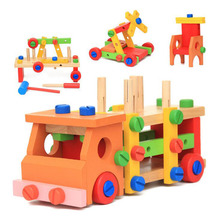 New Tool Set Toys Wooden Multifunctional font b Maintenance b font font b Car b font