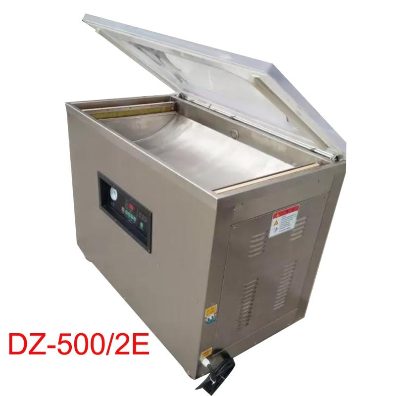 Scelleur sous vide de bureau, machine d'emballage sous vide alimentaire DZ-500/2E machine de cachetage de sac d'emballage sous vide de bureau 110 v/220 v