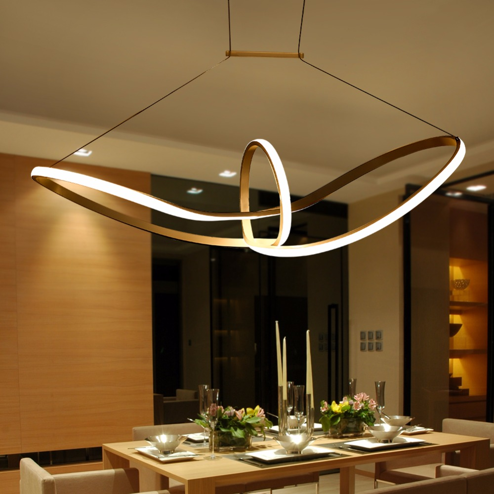 Buy led lamp pendant lights lustre lampen - Lamparas modernas techo ...