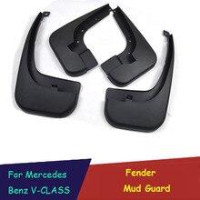 цена на Mudguards Mud Flaps Splash Guards Fender Mud Guard Car Accessories for Mercedes Benz V-CLASS V CLASS V250 V260 V260L  VITO W447