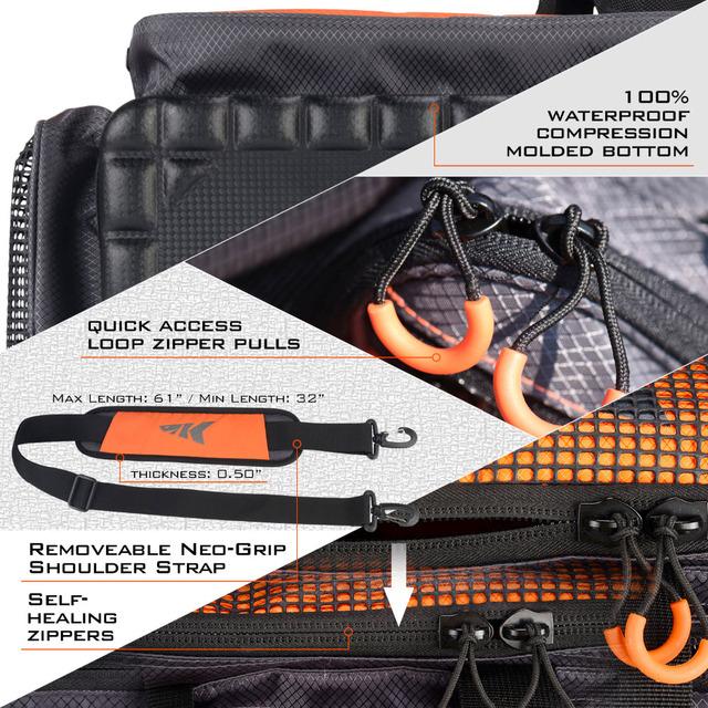 KastKing Fishing Bag Large Capacity Multifunctional Lure Fishing Tackle Pack Outdoor Waist Bags Fishing Boxes Plier Storage