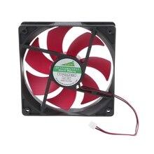 Вентилятор для компьютера 120 мм DC12V 0.2A 2,5 2pin серверный инверторный чехол осевой кулер промышленный вентилятор