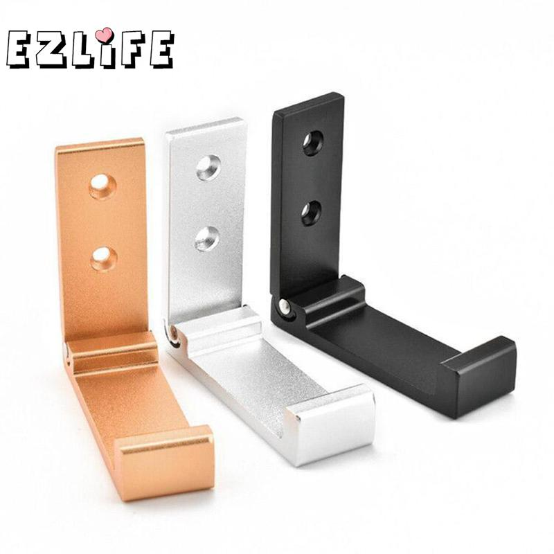 3 Colors Headphone Stand Holder Under Desk Headset Hanger Acrylic Wall Desk Display Stand QTJ3198