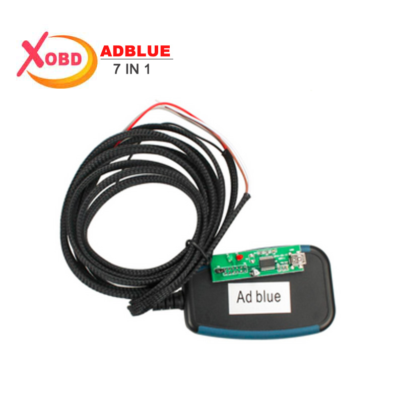 ObdTooL New Adblue Emulator 7in1 Module Programming Adapter for Truck Diagnostic Remove Tool Adblue 7 in 1 Black