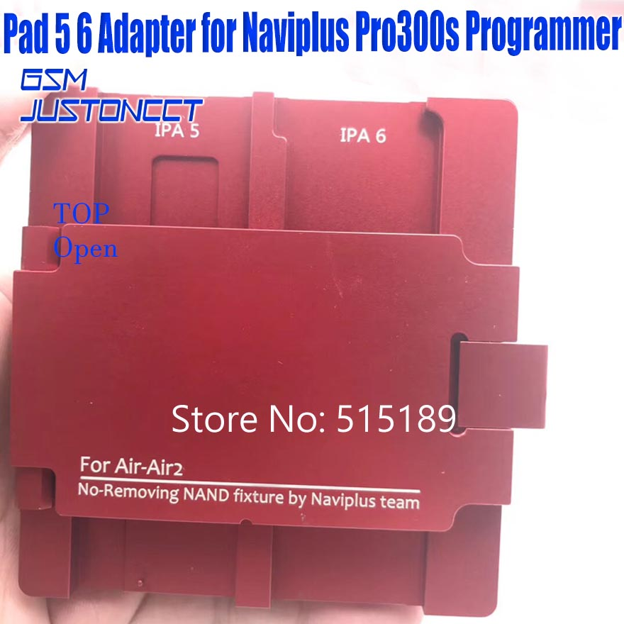 ipad 5 6 adapter for Naviplus Pro3000s programmer - GSMJUSTONCCT -A