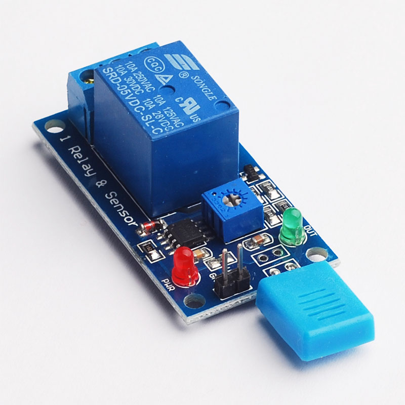 Humidity switch relay module humidity switch module humidity controller humidity sensor high quality 1pcs current detection sensor module 50a ac short circuit protection dc5v relay