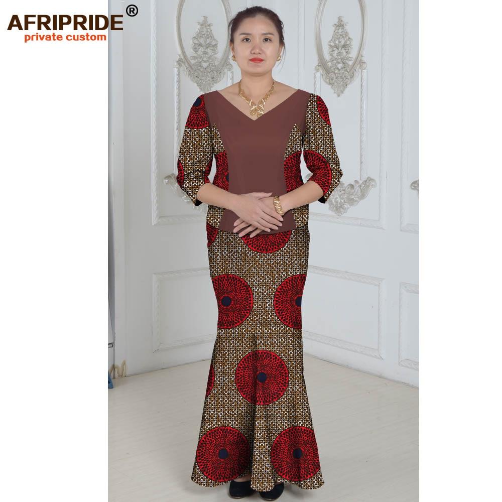 Vêtements africains costume deux pièces costume d'été princesse - Vêtements nationaux - Photo 4