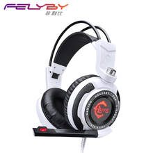 GS-941 USB 7.1 Surround Gaming Headset with Super Soft Earmuffs for More Comfortable Stereo Gaming Headphones