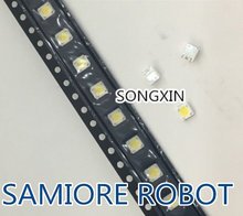 100 pces lumens led backlight 1w 3v 3535 3537 branco fresco lcd backlight para tv aplicação A129CECEBP18A-2092 4jiao