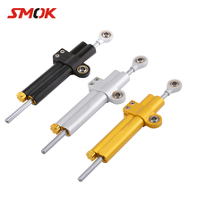 SMOK Universal Motorcycle CNC Adjustable Steering Damper Stabilizer For Yamaha MT 07 MT-07 MT07 MT09 MT 09 MT-09 R6 R1 With LOGO цена 2017