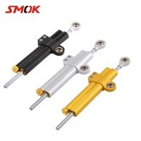 SMOK Universal Motorcycle CNC Adjustable Steering Damper Stabilizer For Yamaha MT 07 MT 07 MT07 MT09 MT 09 MT 09 R6 R1 With LOGO