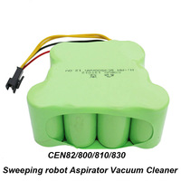 NI MH 3500mAh 12V Replacement Battery for ECOVACS CEN82/800/810/830 Sweeping robot Aspirator Vacuum Cleaner Battery Pack
