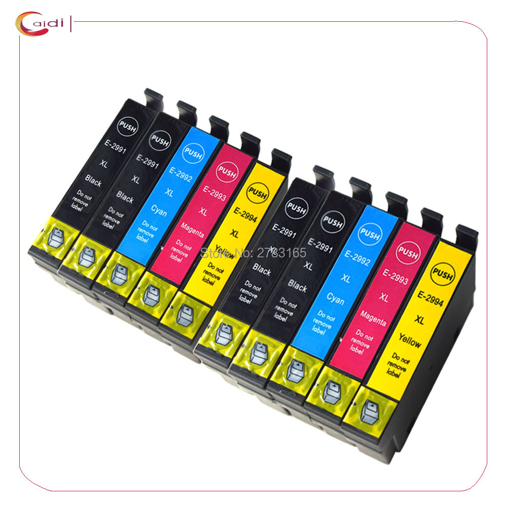 10x T29 29XL 29 T2991XL T2991 Ink Cartridge Compatible for <font><b>Epson</b></font> XP235 XP247 XP245 XP332 XP335 XP342 <font><b>XP345</b></font> XP435 XP432 Printer image