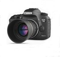 85mm f/1.8 Telephoto Portrait Lens to for Canon 70D 50D 10D 7D 1D 1DX 1Ds Camera