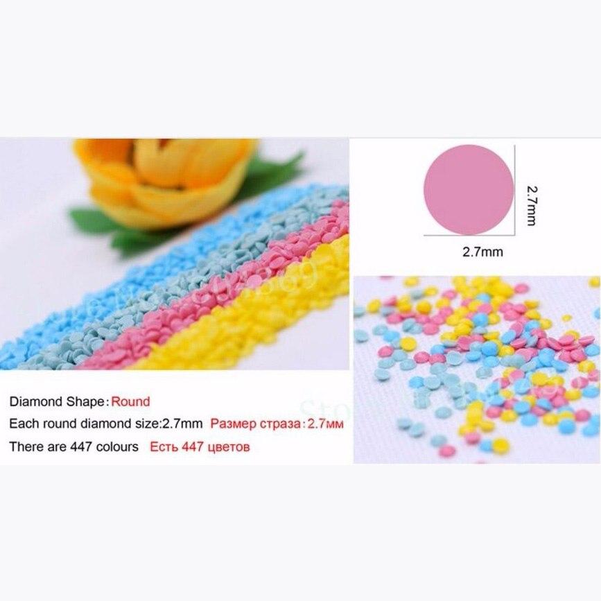 5 шт. 3D полный квадратный Diy Алмазная картина вышивка крестиком узор Алмазная вышивка мультфильм мышь утка украшение комнаты подарок - 2