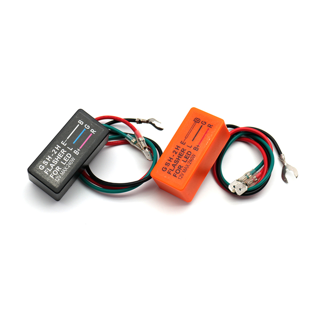 Motorcycle Led Turn Signal Flasher Relay 12 V 240 W DOP-3X 3 Pin Flasher Control 80 Times/Min Scooter Blinker Accessories