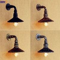 IWHD Antike Wasser Rohr Vintage Wandleuchte Loft Stil Industrie Wand Leuchten Treppenbeleuchtung Appliques Murale LED