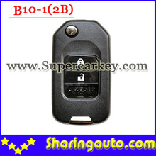 Free shipping (1 piece)B10-01 2 Button Remote Key for URG200/KD900/KD200 machine