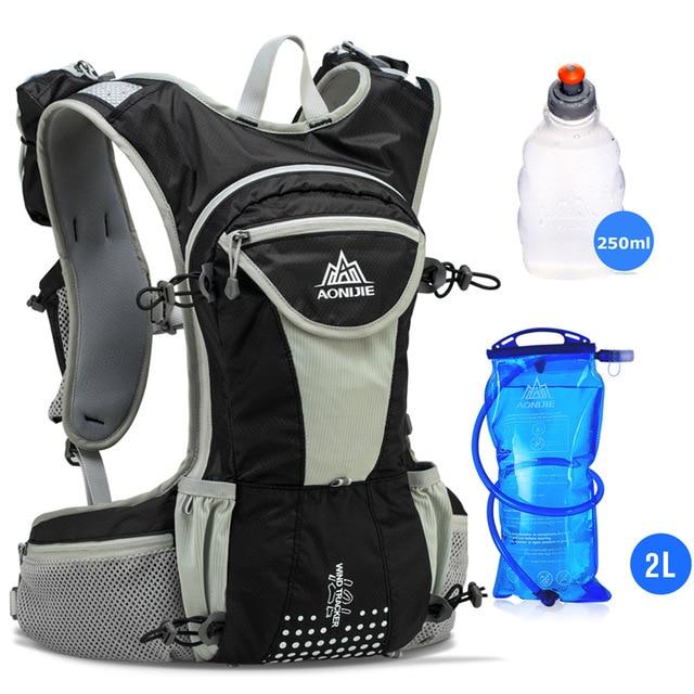 Sac à dos d'hydratation 12L Ultra-légerpack noir