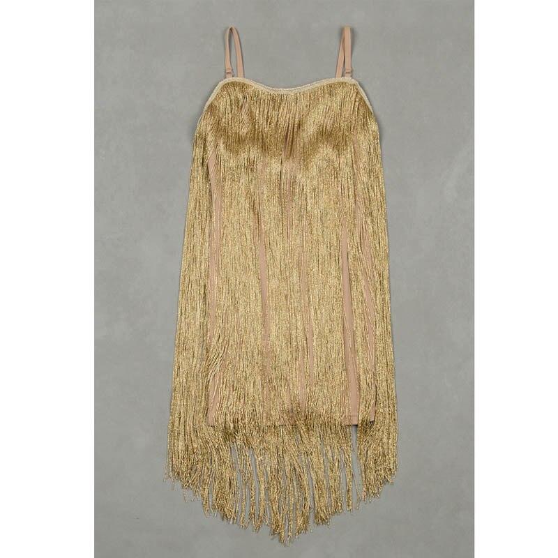 ERDAOBEN Womens tassel Evening Party Wear Birthday Celebrate Outfit dreess H5307