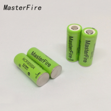 4PCS/LOT New Original 3.6V NCR18500A 2000mah Li-Ion Battery Rechargeable Batteries For Panasonic Free Shipping
