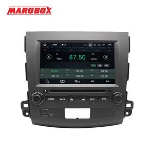 Image 2 - Marubox 2 דין אנדרואיד 9 4GB RAM עבור מיצובישי הנכרי XL 2006 2012 סטריאו רדיו GPS Navi DVD מולטימדיה לרכב נגן 8A710PX5