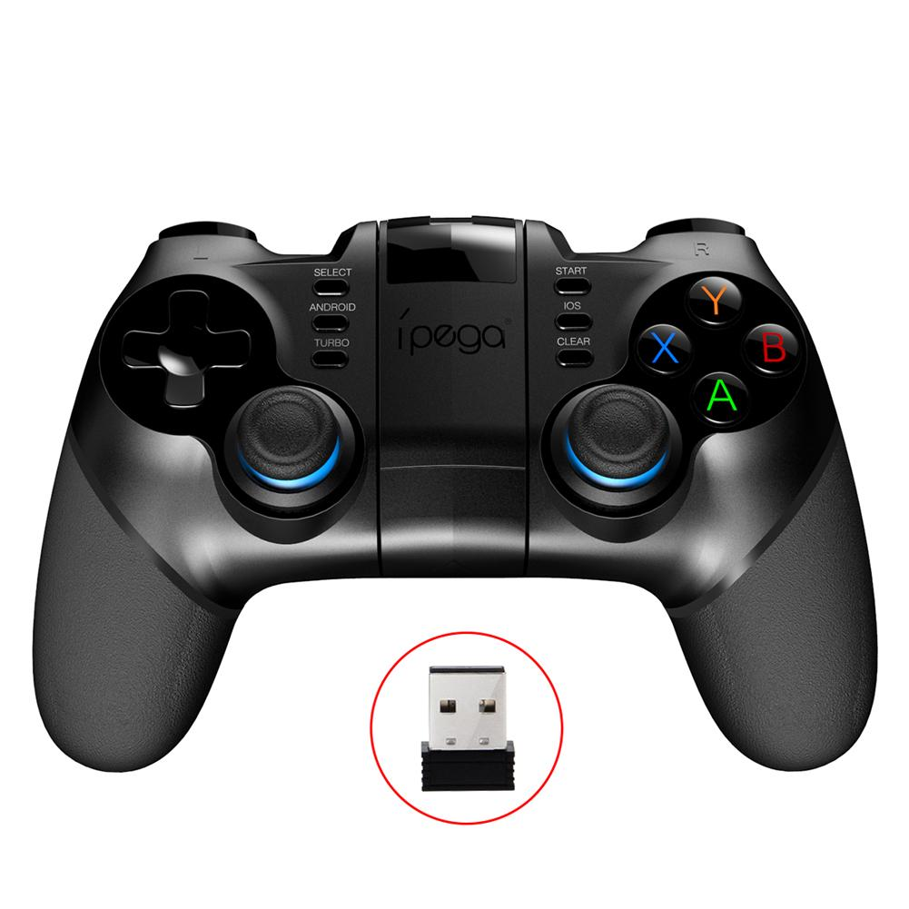 PG-9156 Batman Bluetooth Wireless Controller Bluetooth 4.0 + 2.4G Wireless Receiver Support PS3 Game Console For Android IOS PC