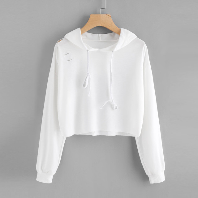 38c21c969 EUA New Design Estilo Moda Outono Luva Longa Das Mulheres Treino Camisola  Do Hoodie Com Capuz