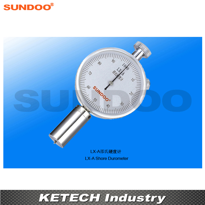 Sundoo LX-A Analog Microporous Materials Rubber Plastic Shore Durometer