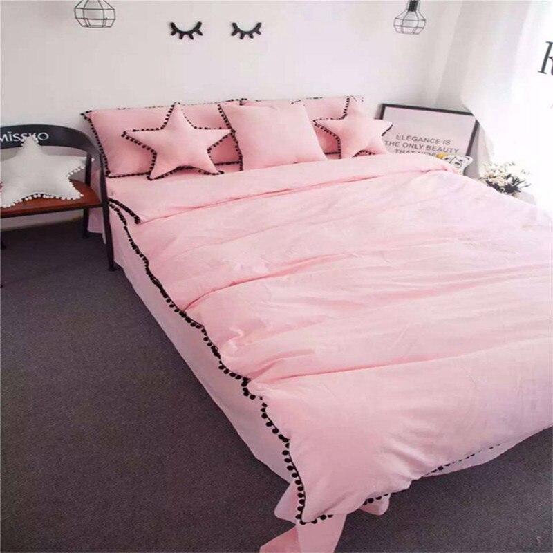 acquista all'ingrosso online rosa duvet set da grossisti rosa ... - Copripiumino Bianco E Rosa