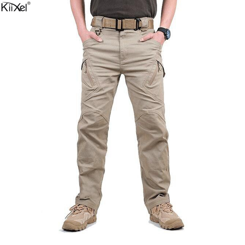 TAD IX9(II) Men Militar Tactical Cargo Outdoor Pants Combat Swat Army Training Military Pants Sport Trousers For Hiking Hunting